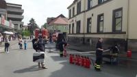 Feuerlöscherparade