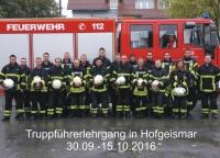 Truppführerlehrgang 09-2016